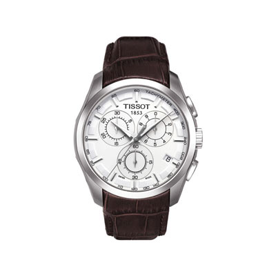 bracelet montre tissot cuir