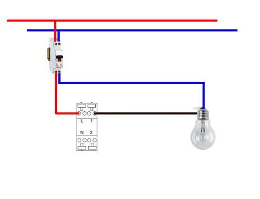 brancher un interrupteur legrand