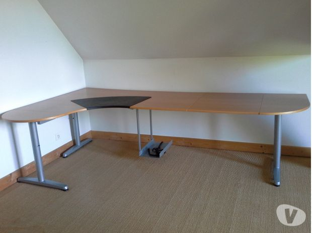 bureau en l ikea