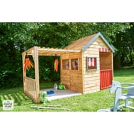 cabane jardin bois enfant