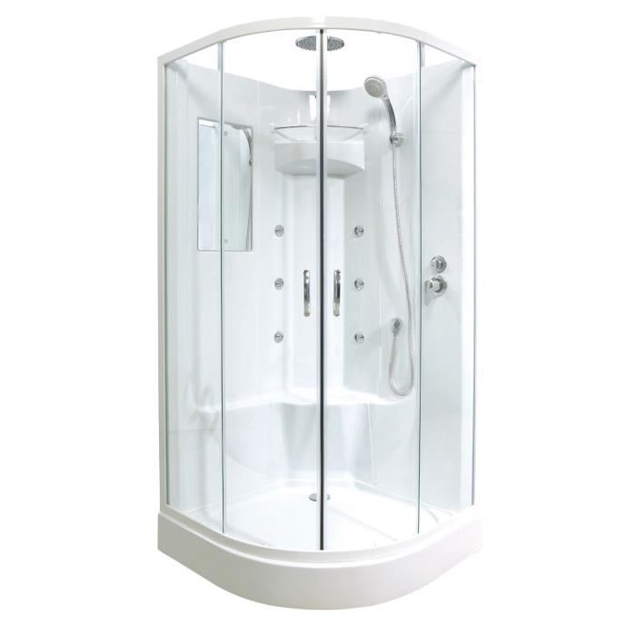 cabine de douche hydromassante pas cher