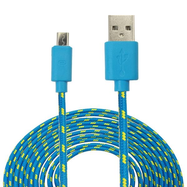 cable usb tressé