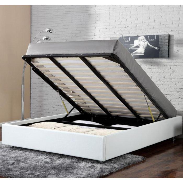 cadre de lit coffre 160x200