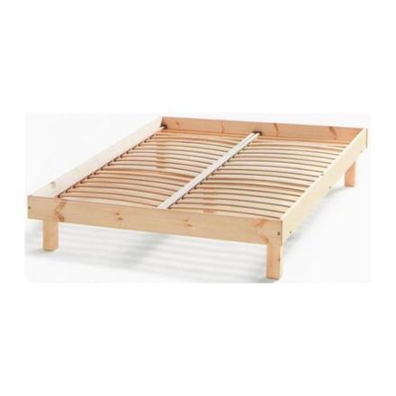 cadre lit bois