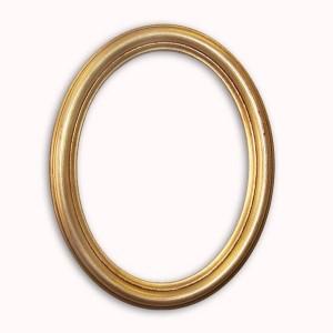 cadre photo ovale