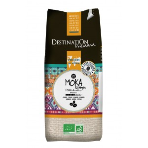 café bio en grain