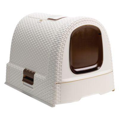 caisse de toilette pour chat
