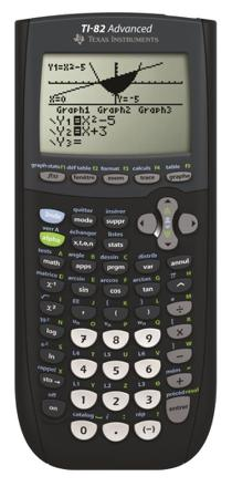 calculatrice ti 82 advanced mode examen