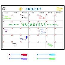 calendrier magnétique frigo