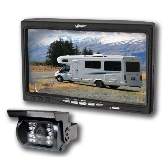 caméra de recul pour camping-car