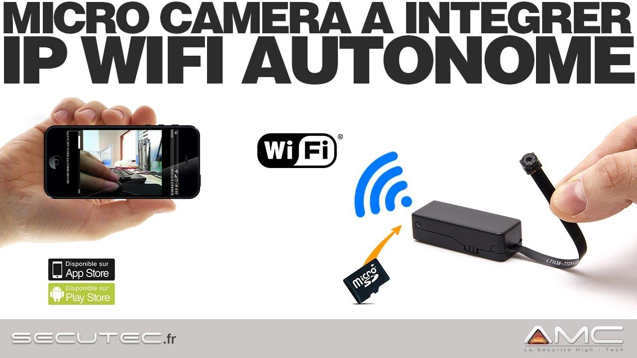 camera espion wifi sans fil