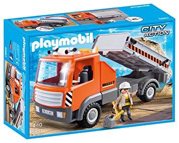 camion playmobil chantier