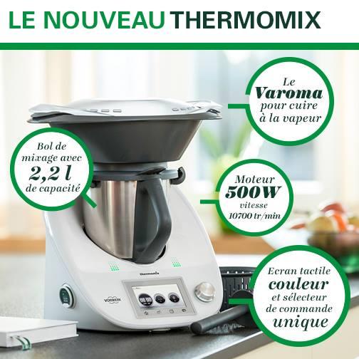 caractéristiques thermomix