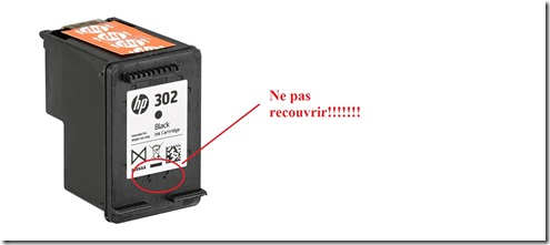 cartouche hp 302 rechargeable