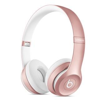 casque beats sans fil rose