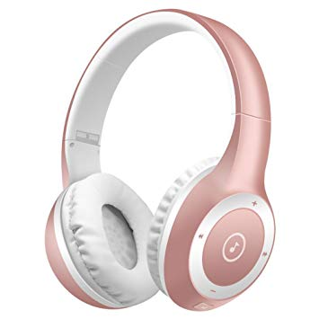 casque bluetooth rose gold