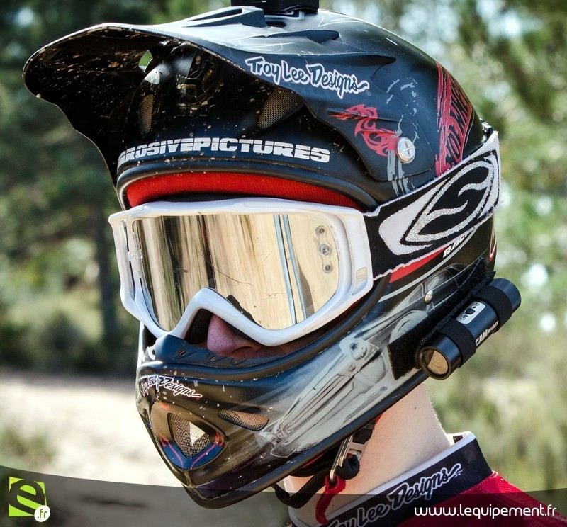 casque cross masque