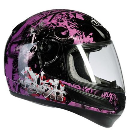 casque de moto cross femme