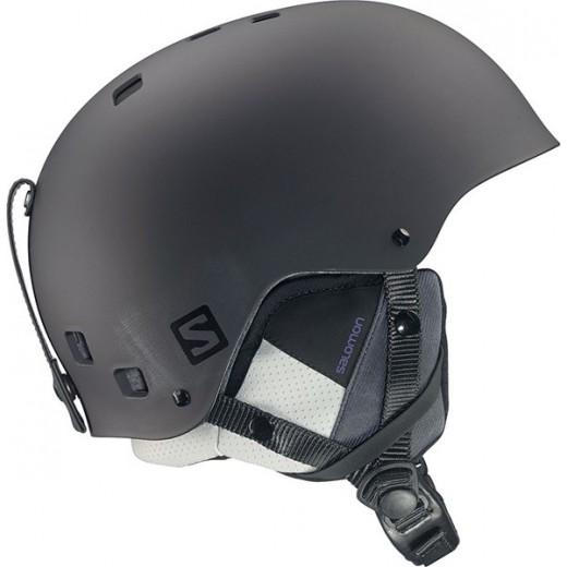 casque de ski noir