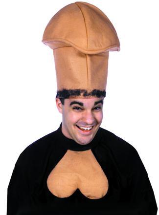 casque en forme de bite