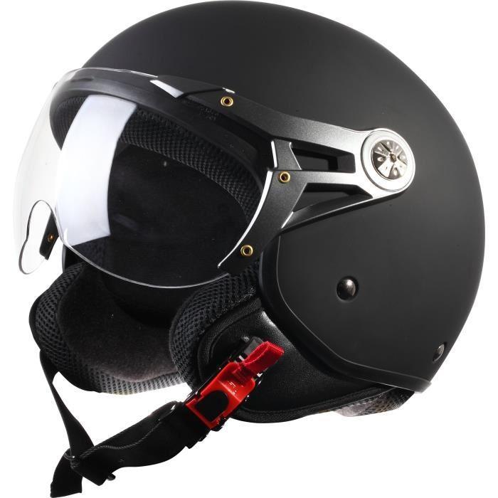 casque moto demi jet pas cher