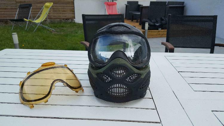 casque paintball occasion