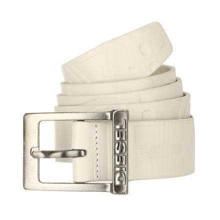 ceinture blanche homme diesel