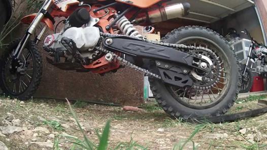 chaine dirt 125