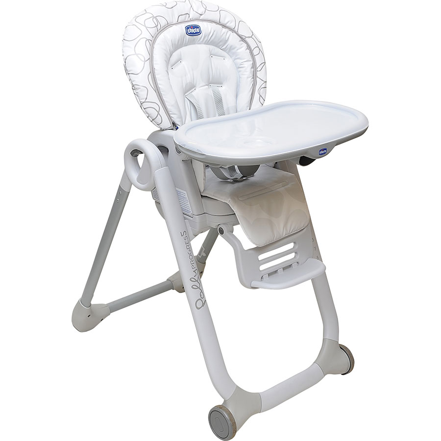 chaise haute chicco polly progres5