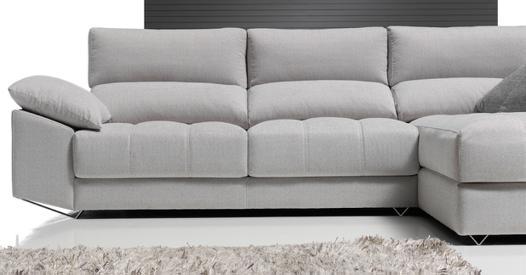 chaise longue grise