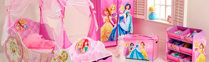 chambre fille princesse disney