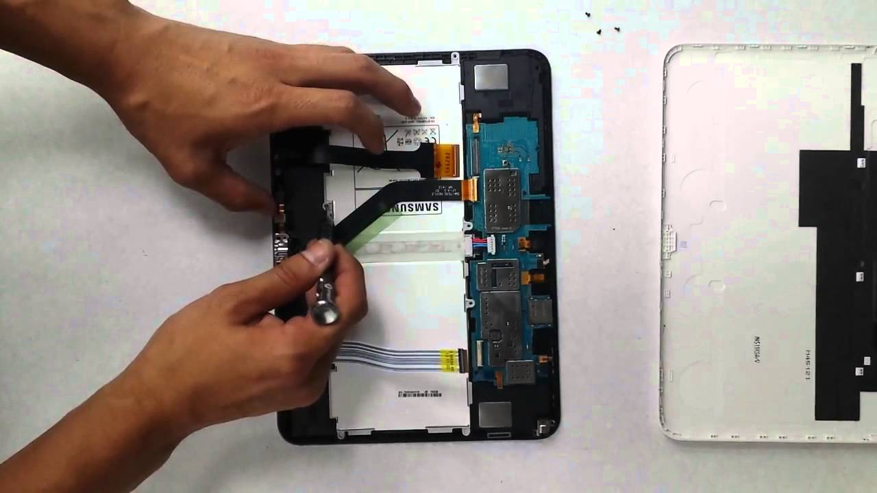 changer batterie galaxy tab 4
