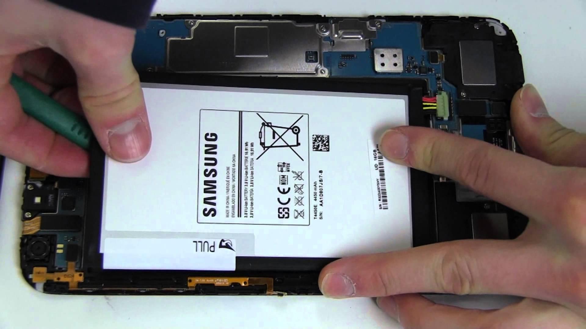 changer batterie tab3