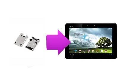 changer connecteur de charge tablette asus