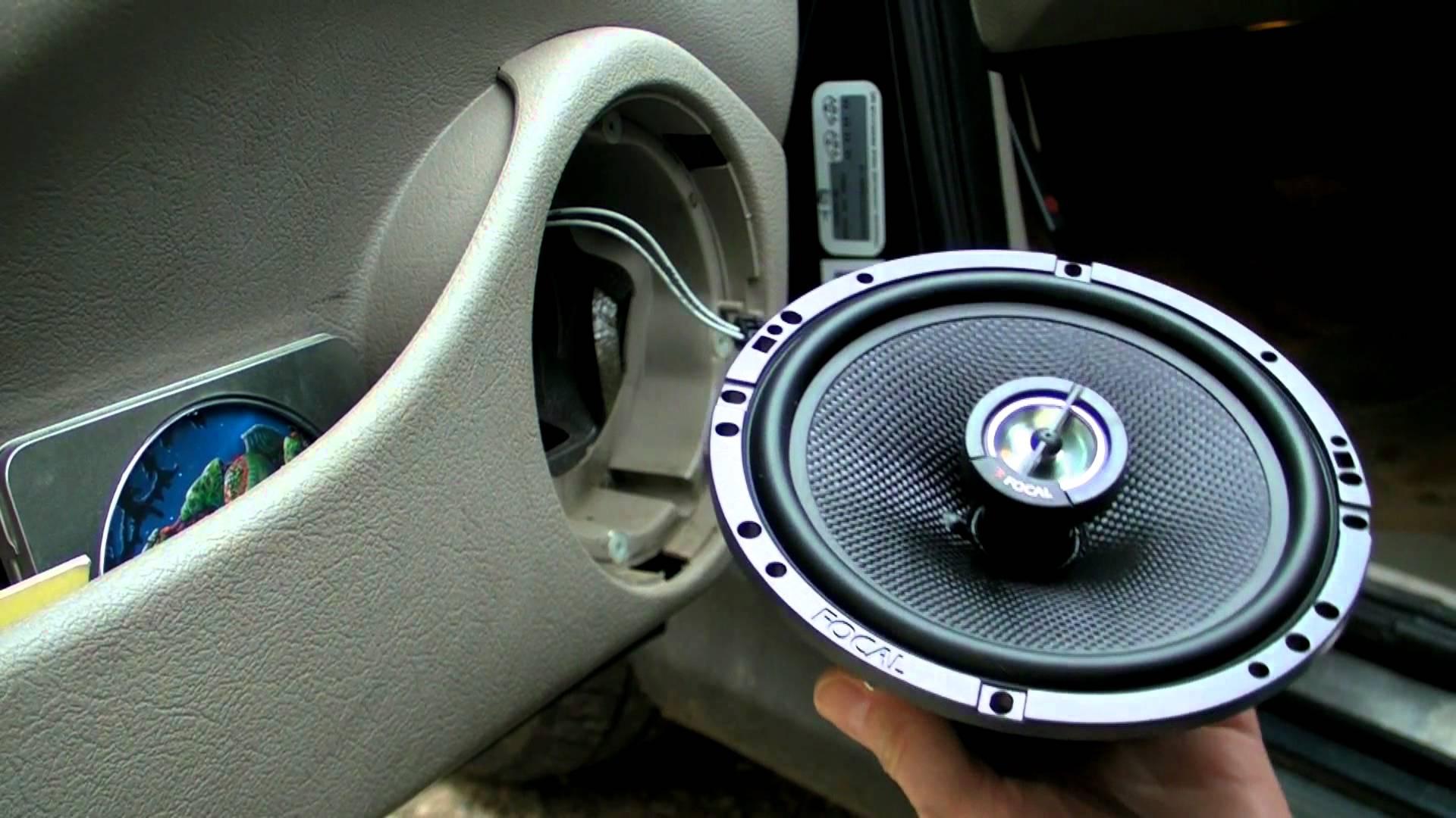 changer haut parleur voiture