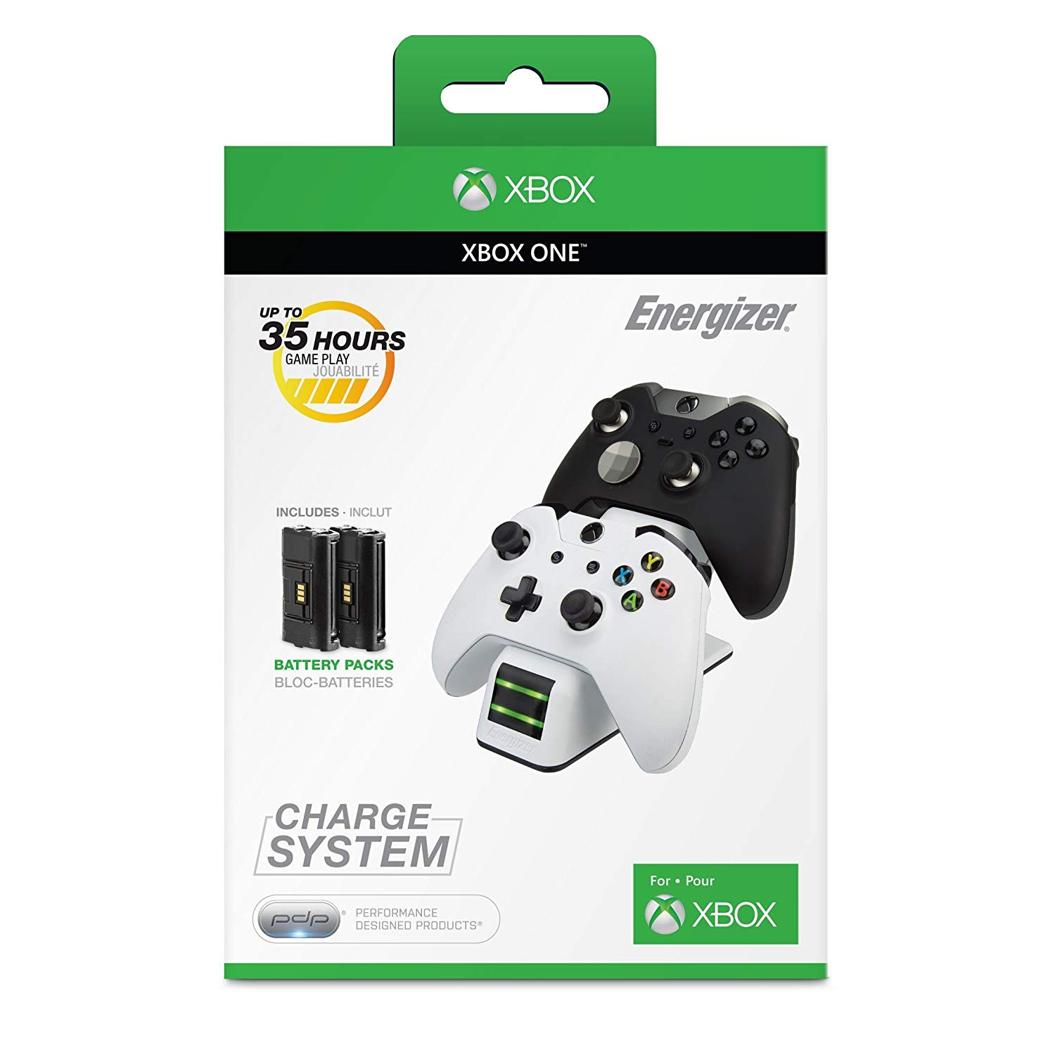 chargeur manette xbox one energizer