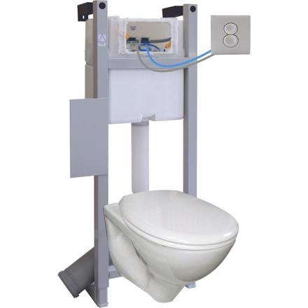 chasse wc suspendu