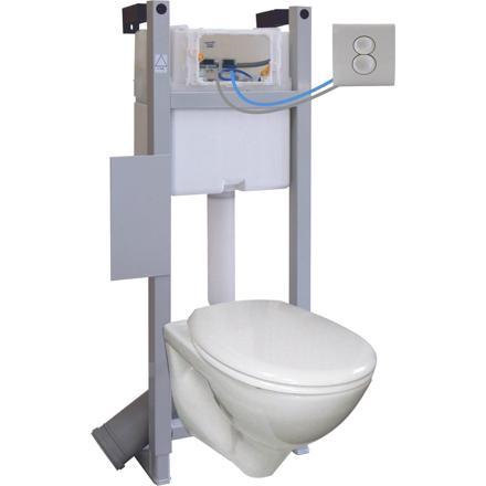 chasse wc suspendu