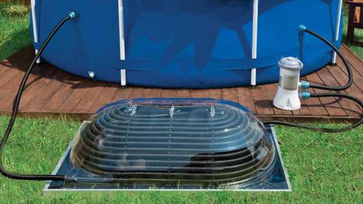 chauffage solaire pour piscine hors sol intex