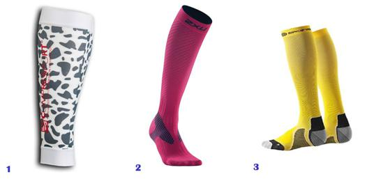 chaussettes compression running femme