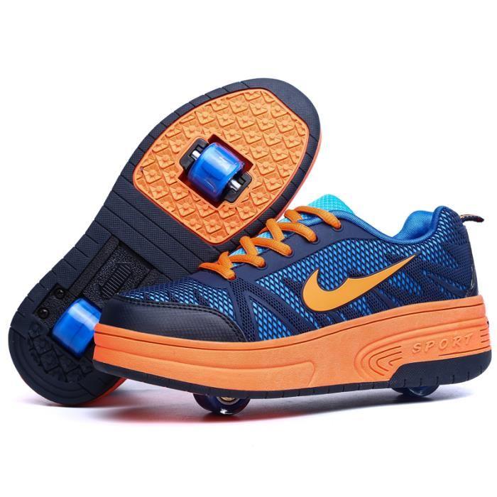 chaussure avec des roulettes