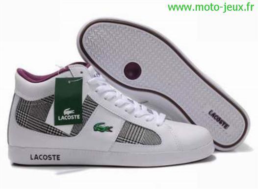 chaussure lacoste pas cher