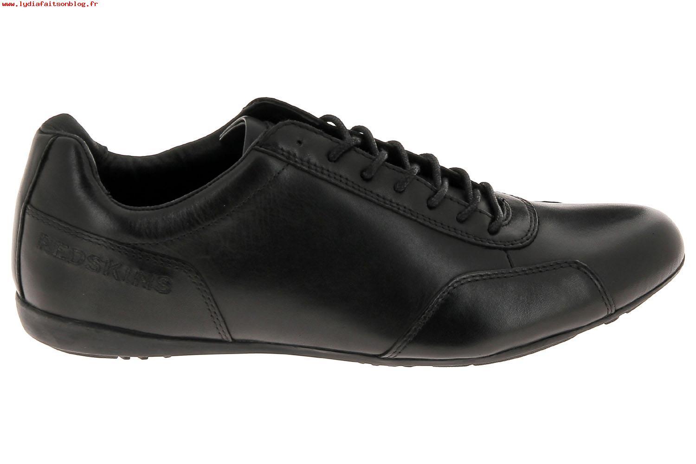 chaussure redskins homme noir