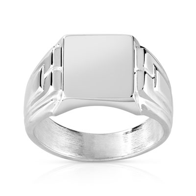 chevaliere argent homme