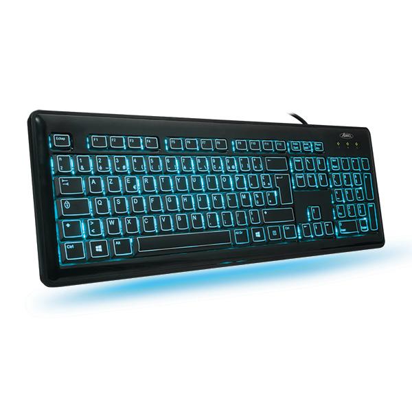 clavier ordinateur éclairé