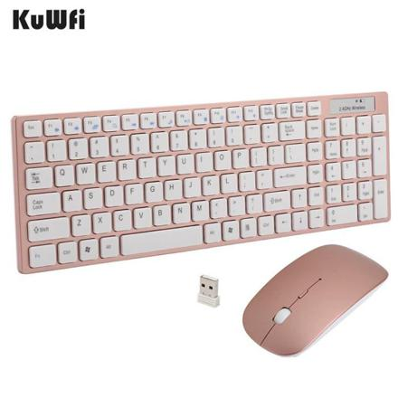 clavier rose gold