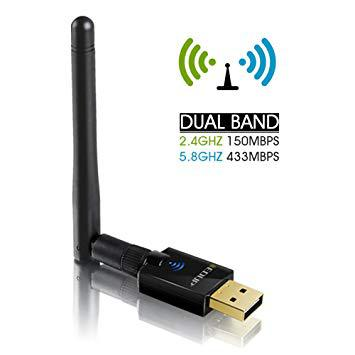 clé wifi antenne