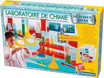 clementoni laboratoire de chimie