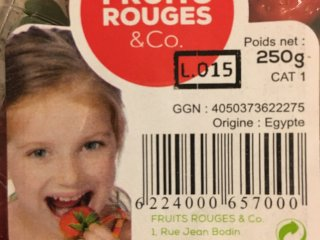 code reduction fruit rouge