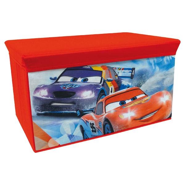 coffre a jouet cars